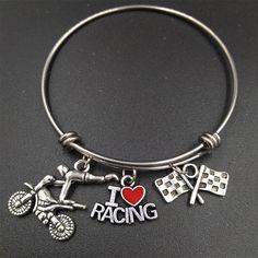 I Love Racing Bracelet