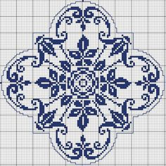 Square 62 - Chart for cross stitch or filet crochet. Cross Stitch Pillow, Cross Stitch Borders, Cross Stitch Charts, Cross Stitch Designs, Cross Stitching, Cross Stitch Embroidery, Cross Stitch Patterns, Crochet Cross, Crochet Chart