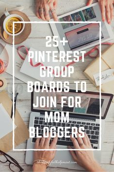 25+ Pinterest Group Boards to Join for Mom Bloggers!  When I started blogging I had never heard of group boards. If you're thinking about starting a blog or have just started one, this is one of the best investments of your time besides creating content. Not only are you able to reach more viewers...