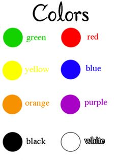 Color Preschool Printables Classroom charts, Preschool