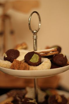 Schokoladen-Grüntee Kekse *