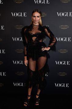 Natasha Poly en robe Francesco Scognamiglio Vogue Paris soirée 95 ans http://www.vogue.fr/mode/inspirations/diaporama/la-soire-des-95-ans-de-vogue-paris/22911#natasha-poly-en-robe-francesco-scognamiglio
