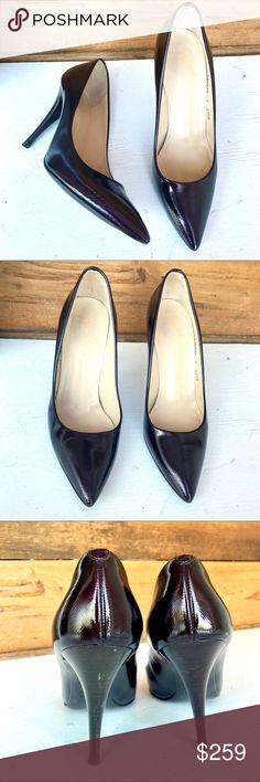 Giuseppe Zanotti Deep Burgundy Heels Classic Giuseppe Zanotti deep burgundy (almost black) heels. Giuseppe Zanotti Shoes Heels