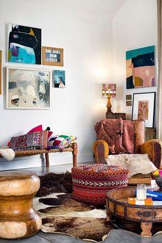 toques étnicos y de color | Decorar tu casa es facilisimo.com