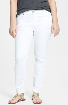 Eileen Fisher Slim Ankle Jeans (Plus Size) | Nordstrom