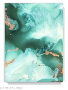 Abstract Art Marta Spendowska A frozen lullaby