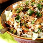grilled ginger sesame chicken salad