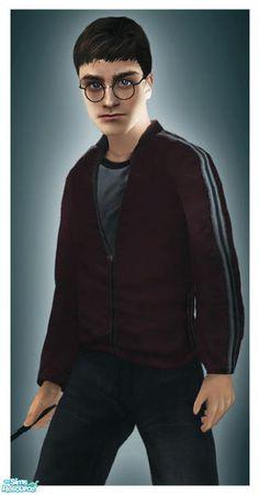 Harry Potter (Daniel Radcliffe) for the Sims 2 (TS2)