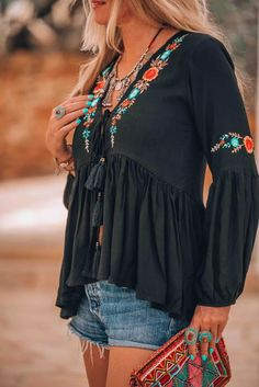 boho fashion bohemian ibiza look - boho fashion bohemian ibiza look boho fashion bohemian ibiza look Ibiza Fashion, Trendy Fashion, Womens Fashion, Bohemian Fashion, Bohemian Outfit, Fashion Vintage, Vetement Hippie Chic, Ibiza Look, Ibiza Style