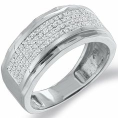 costco men 39 s diamond ring 14kt white gold