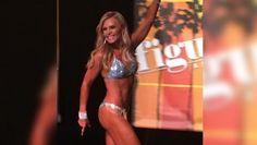 Outmuscling the competition: Tamra Judge's decision to wear the skimpiest of bikinis paid of after she the Muscle Mania fitness event in Orange County on Saturday Competition Makeup, Fitness Competition, Bodybuilding Competition, Bodybuilding Diet, Wellness Fitness, Physical Fitness, Daily Mail Celebrity, Shredded Body, Body Training