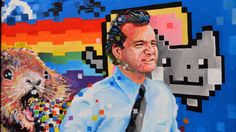 """""""The Murray Affair,"""" Bill Murray Art Gallery @SFPDW - Curator Ezra Croft. From Bob Wiley + Phil Connors to Steve Zissou + Bob Harris, all of Murray's most iconic roles will be represented."""