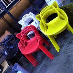 #conexaohome #outlet #outletmoveis#outletdemoveis #cadeiraallegra#cadeirasallegra #cadeiracolorida#cadeirascoloridas #cadeiraamarela #cadeirasdesign#cadeiradesign #promoção Colorful