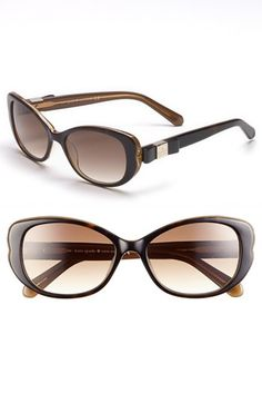 4401782fe8 kate spade new york  chands  53mm sunglasses available at  Nordstrom Kate  Spade Glasses