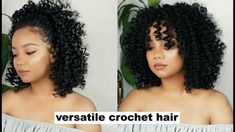 As all we know that Crochet braids is one of the popular Protective Hairstyle. This Braiding hairstyles is changing with the passage of time. Now the crochet braids we're seeing today are very different from the ones that were popular back in the late Straight Crochet Braids, Curly Crochet Hair Styles, Crochet Braid Styles, Curly Crochet Braids, Wand Curl Crochet Hair, Crochet Braids Hairstyles Curls, Curled Hairstyles, Protective Hairstyles, Straight Hairstyles