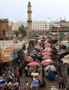 The old Market, Erbil, Kurdistan, Iraq