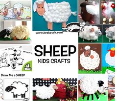 krokotak   Sheep with Cotton Pad