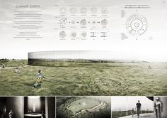 Projects presented to the Camelot Research & Visitors Center International Architecture Competition for Students Organized by ARCHmedium: