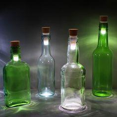 Rechargeable LED Bottle Light