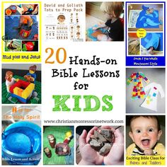 Hands-on Bible Lessons - www.christianmontessorinetwork.com
