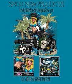 Carmen designs: Pirate Elli