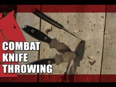 How to Throw a Knife With No Spin | COMBAT KNIFE THROWING
