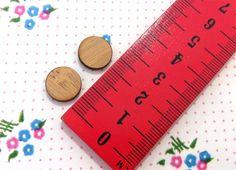 Medium 13mm Spot Wooden Laser Cut Earring Supplies