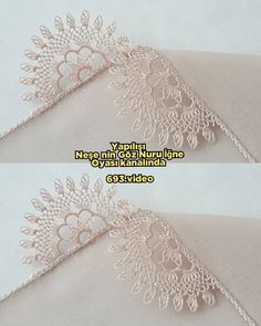 Needle Lace, Diy Flowers, Projects To Try, Diy Crafts, Embroidery, Vintage, Herbs, Appliques, Lilac