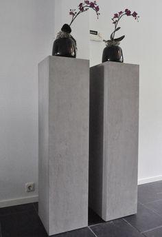 betonlook zuilen