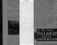 St. Joseph, MO news ~ March 6, 1920 on page 2 ~ Wm Washington