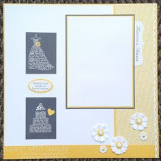 Stamp With Sandy: Love and Laughter for the Mr. and Mrs. Scrapbook Pages, 12x12, Stampin' Up, Page two