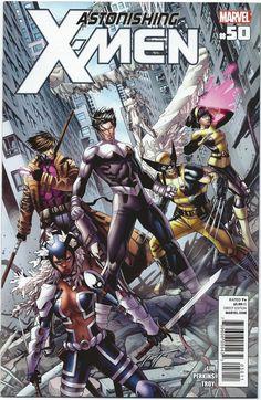 Astonishing X-Men Vol 3 #50 VF Dustin Weaver Mike Perkins Marvel Comics - 2012 - X-Men