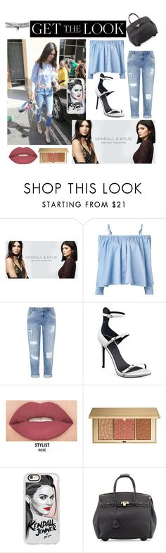 """kendall jenner"" by julietarequena on Polyvore featuring PacSun, Sandy Liang, Miss Selfridge, Kendall + Kylie, Smashbox, Estée Lauder, Casetify, KC Jagger, GetTheLook and celebritysiblings"