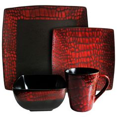 I pinned this 16 Piece Boa Dinnerware Set from the Design Icon event at Joss and Main!
