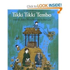 A favorite children's book from when I was in elementary school. I still remember my favorite librarian reading this and being enchanted by the verse and rhythm of this wonderful folk tale.