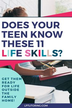 So many smart teens head off to college or career lacking some major life skills. Click through to see the entire list and get ideas for how to learn these skills fast! Raising Teenagers, Parenting Teenagers, Parenting Teens, Parenting Quotes, Parenting Advice, Mom Advice, Study Skills, Life Skills, College Organization