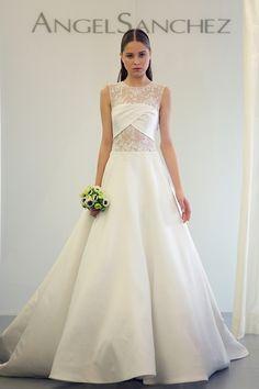 designer hochzeitskleider angel sanchez brautkleider 2014