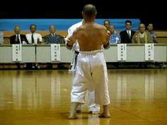 Shime Sanchin kata. Goju Ryu - YouTube