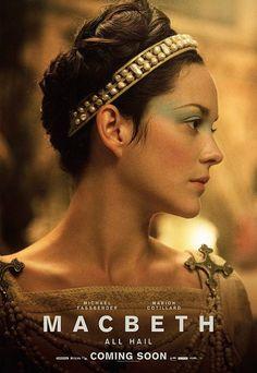Marion Cotillard, Macbeth 2015, Lady Macbeth, Cinema Posters, Film Posters, Macbeth Poster, Eddard Stark, Arya Stark, Fiction