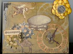 love this 8x10 stamp steampunk collage.  hope you do too