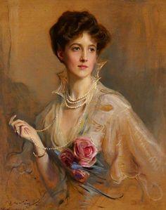 """""""Violet Rawson, Lady Leconfield"""" (1915) by Philip Alexius de László (1869-1937)."""