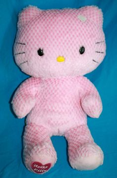 "Hello Kitty Build A Bear 18"" Pink Plush Stuffed Animal Toy #BuildABear #AllOccasion"