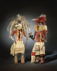 Brooklyn Museum: Kachina Doll (Tam-lam Kushokta)