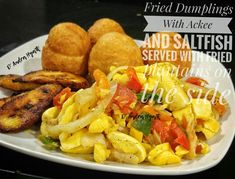 #jamaica Fried Dumplings, Jamaica, Fries, Food And Drink, Meat, Chicken, Beef, Negril Jamaica, Cubs