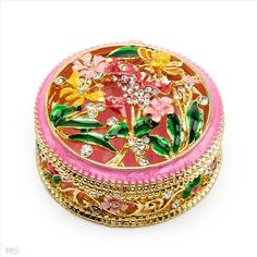$14.00  Wonderful Accessories with Stal Made of Yellow Base metal and Multicolor Enamel