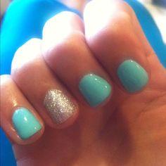 Summer shellac nails, shellac nail colors, shellac nail designs, na Shellac Nail Colors, Shellac Nail Designs, Shellac Nails, Glitter Nails, Nails Design, Gold Glitter, Nail Polish, Sparkle Nails, Fancy Nails