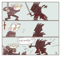 The Witcher 3, doodles 174 by Ayej.deviantart.com on @DeviantArt