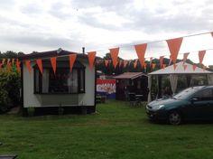Oranje versiering WK 2014