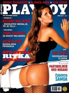 """Playboy Slovenia 04/2011 Claudia """"Cacau"""" Colucci, Jill Vandermeulen, Kaminska"""