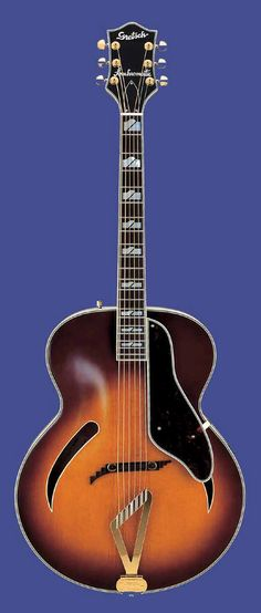 Gretsch G400 Synchromatic archtop (via Acousticmasters)